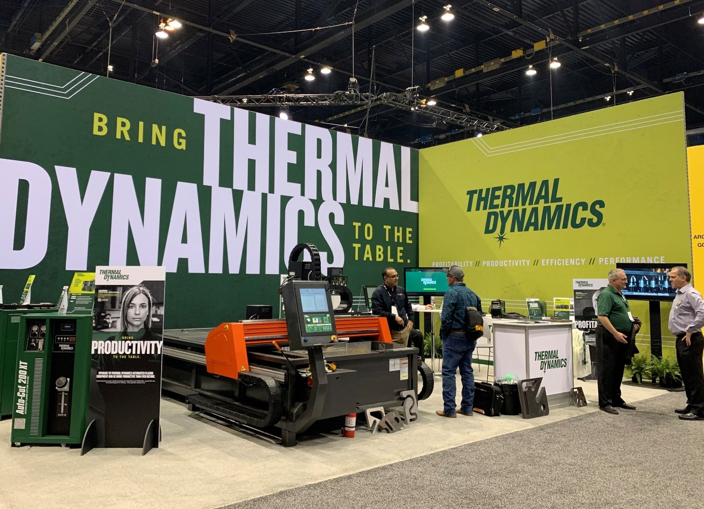 Thermal Dynamics FABTECH 2019 booth