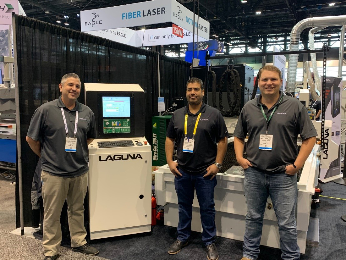 Laguna Tools showed Thermal Dynamics Ultra-Cut 200 XT and iCNC Performance.